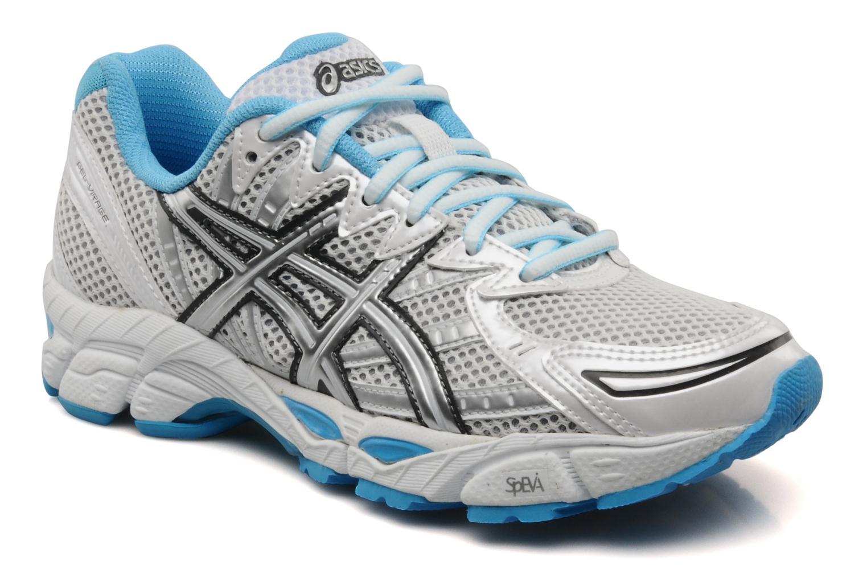 Chaussures de sport Asics Lady gel virage 6 Blanc vue détail/paire
