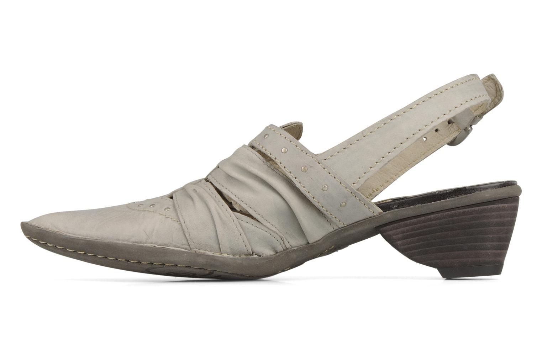 Sandales et nu-pieds Khrio Siane Gris vue face