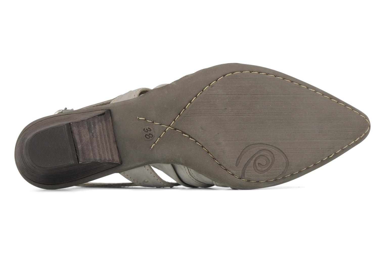Sandales et nu-pieds Khrio Siane Gris vue haut