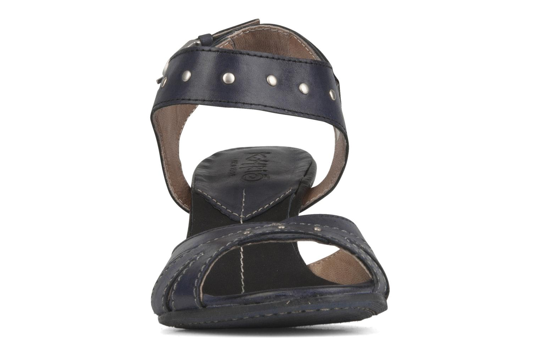 Sandales et nu-pieds Khrio Cherley Noir vue portées chaussures