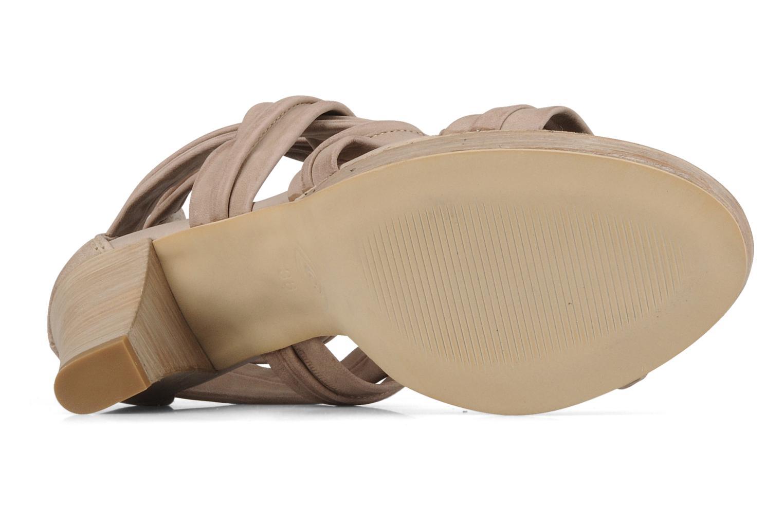 Sandales et nu-pieds Khrio Flana Beige vue haut