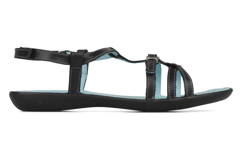 Sandalen Ramdam by GBB Nanterre schwarz ansicht von hinten