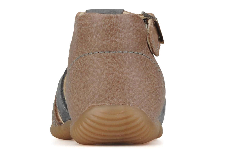 Bottines et boots Aster Dakota Marron vue droite