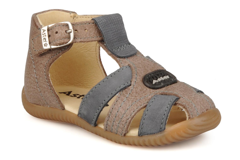 Bottines et boots Aster Dakota Marron vue détail/paire
