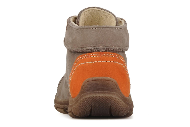 Bottines et boots Aster Tilo Beige vue droite