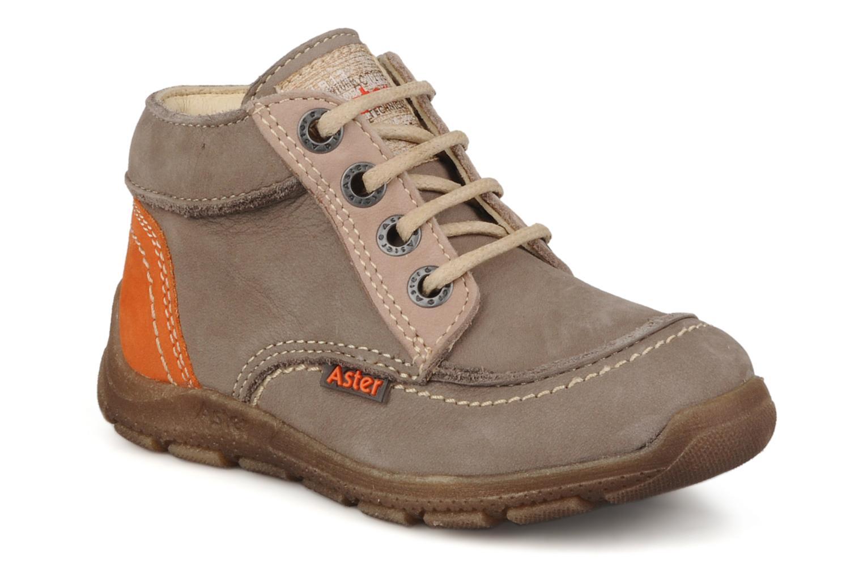 Bottines et boots Aster Tilo Beige vue détail/paire
