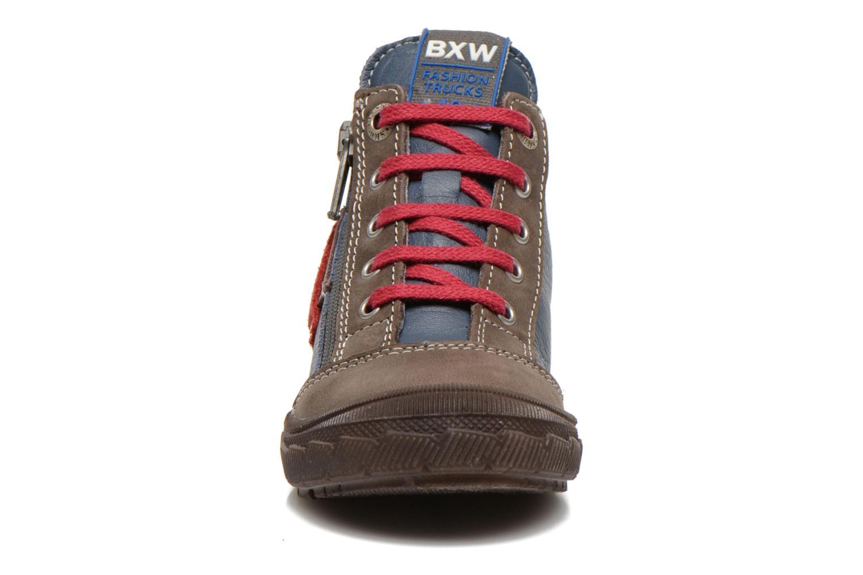 Bottines et boots Bopy Bobby Bleu vue portées chaussures