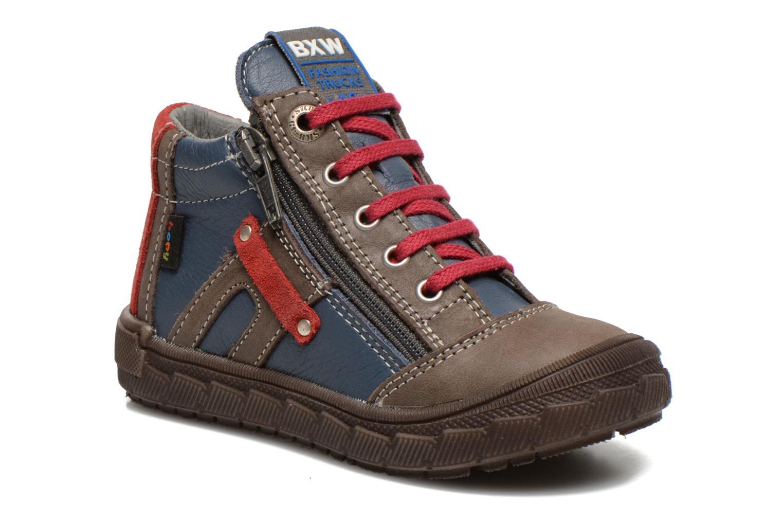 Bottines et boots Bopy Bobby Bleu vue détail/paire