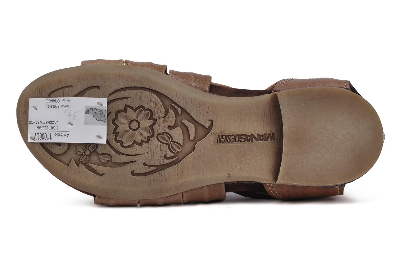 Sandali e scarpe aperte Manas Lazos Grigio immagine dall'alto