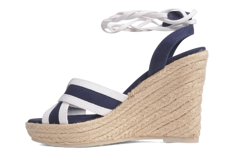 Sandales et nu-pieds U.S Polo Assn. Alena 4175s1 Bleu vue face