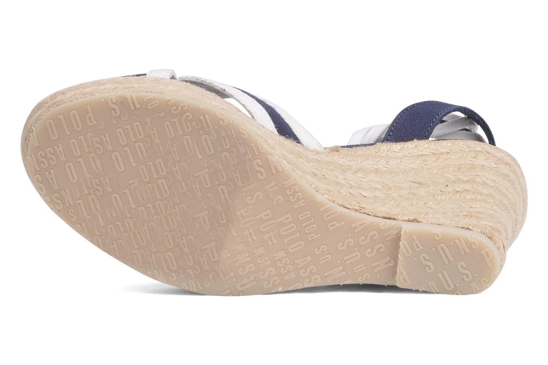 Sandales et nu-pieds U.S Polo Assn. Alena 4175s1 Bleu vue haut