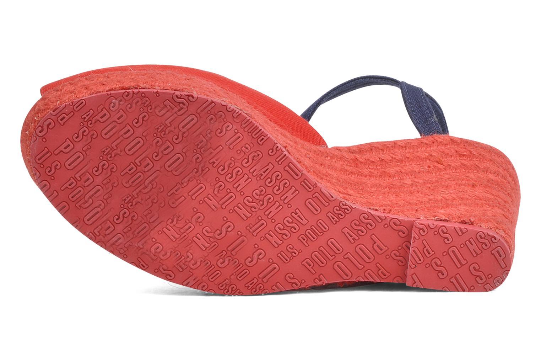 Sandales et nu-pieds U.S Polo Assn. Alena 4103s1 Rouge vue haut