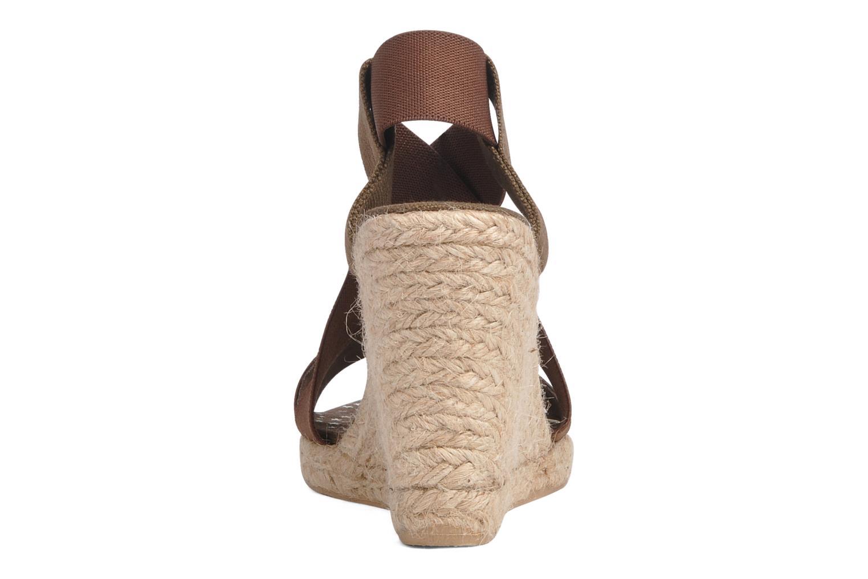 Sandali e scarpe aperte U.S Polo Assn. Naomi 4163s1 Marrone immagine destra