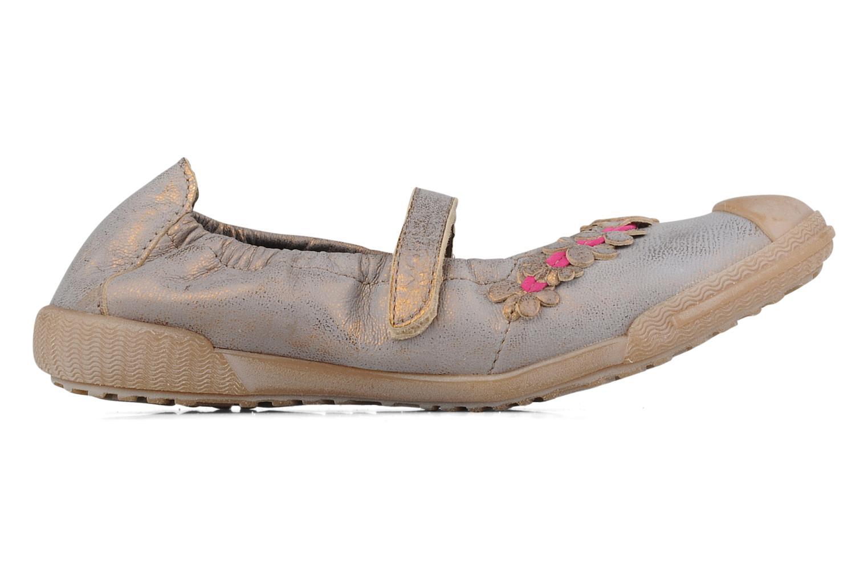 Ballerina's Mod8 Kafleur Goud en brons achterkant