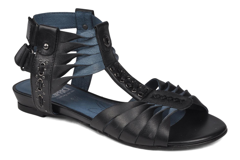 Sandales et nu-pieds Caprice Hyles Noir vue détail/paire