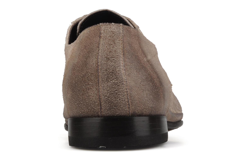 Scarpe con lacci Doucal's Umbria Beige immagine destra
