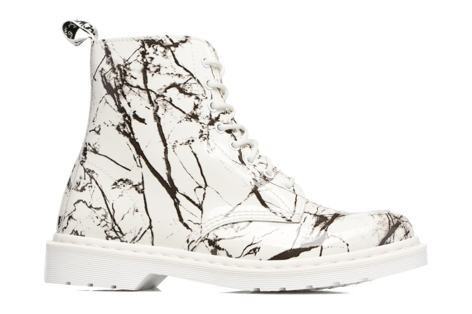 PASCAL M White Patent Marble