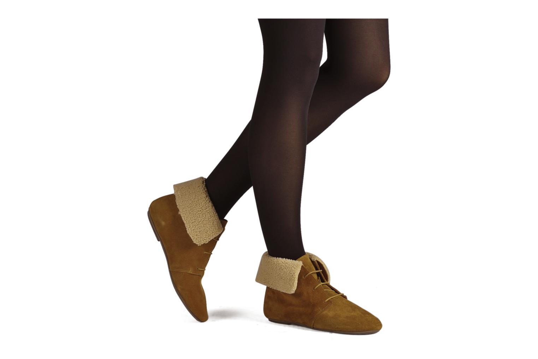 Bottines et boots Jonak Moumi Marron vue bas / vue portée sac