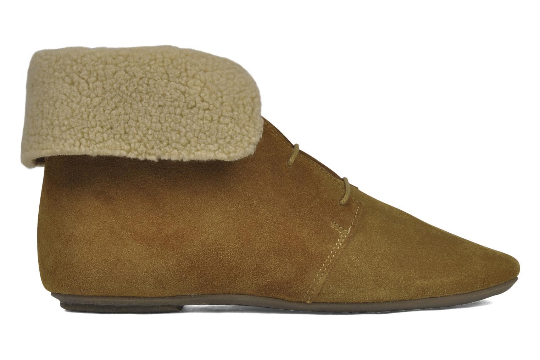 Boots en enkellaarsjes Jonak Moumi Bruin achterkant