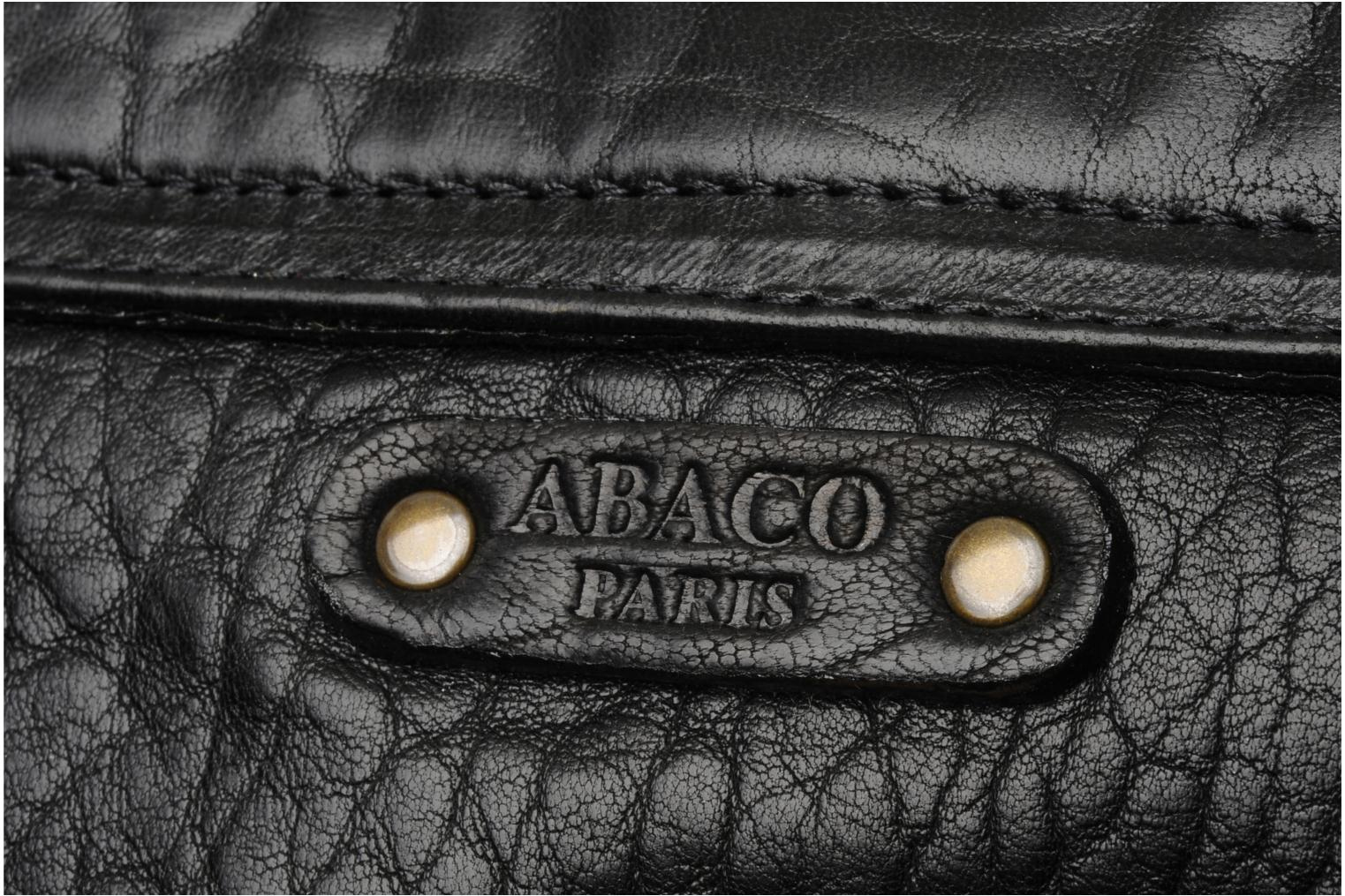 Clutch bags Abaco Gala Black view from the left
