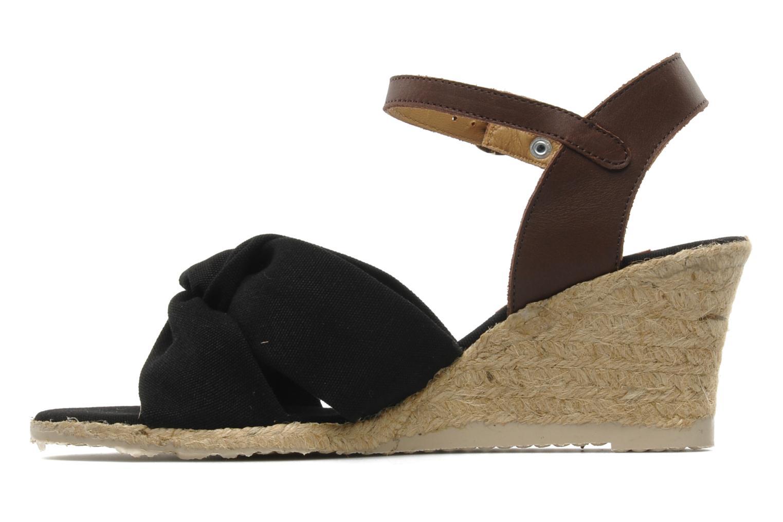 Sandalen Pare Gabia Sorela schwarz ansicht von vorne