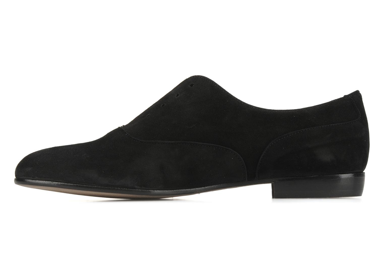 Chaussures à lacets Georgia Rose Saïan Noir vue face