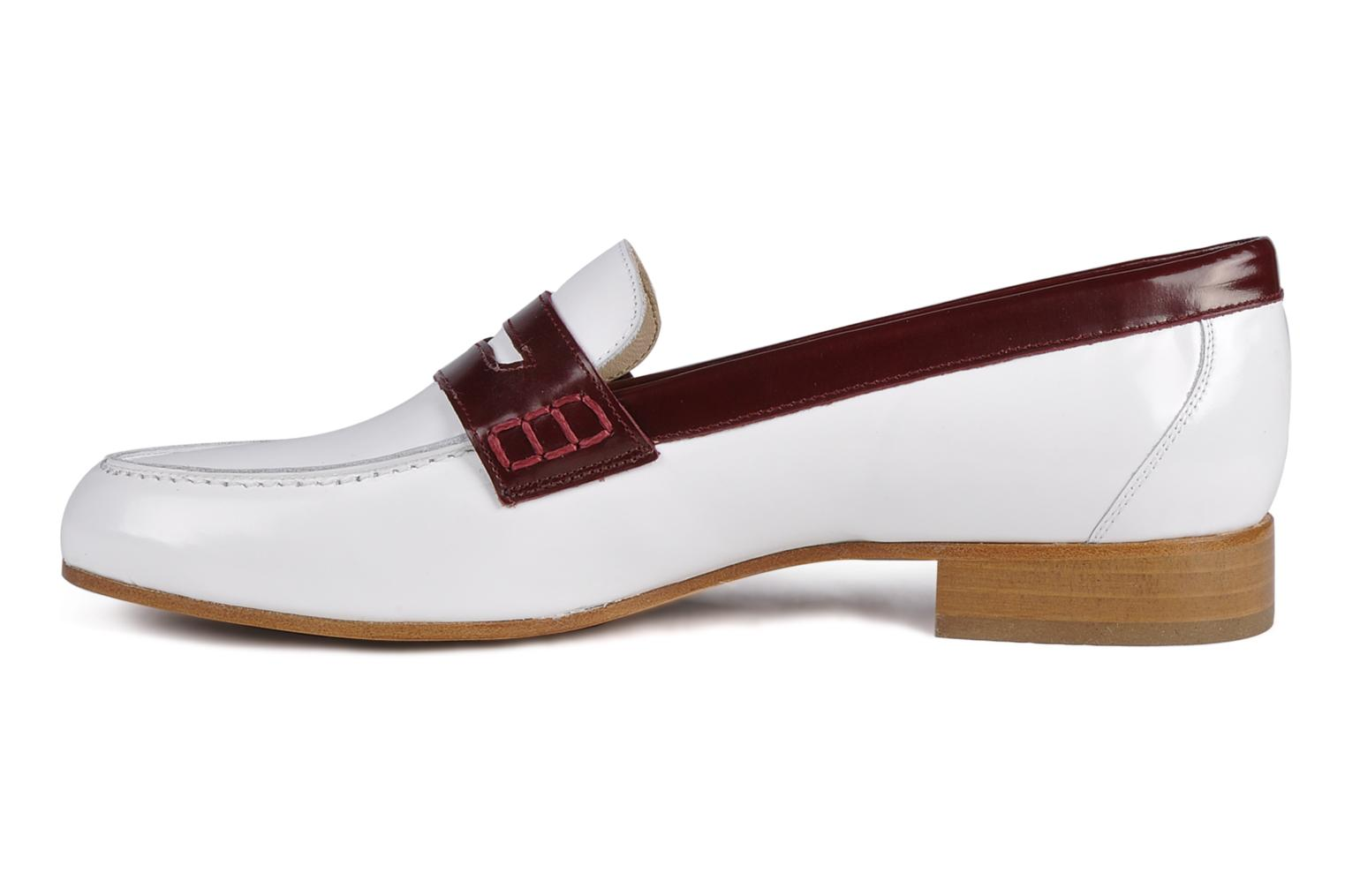 Loafers Georgia Rose Massaï White front view