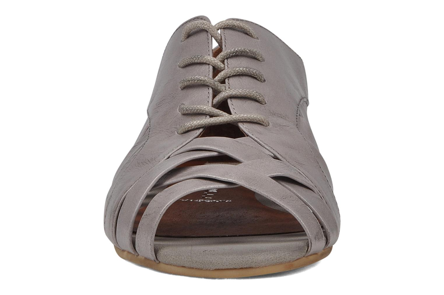 Lace-up shoes Jeffrey Campbell Hoyt Grey model view