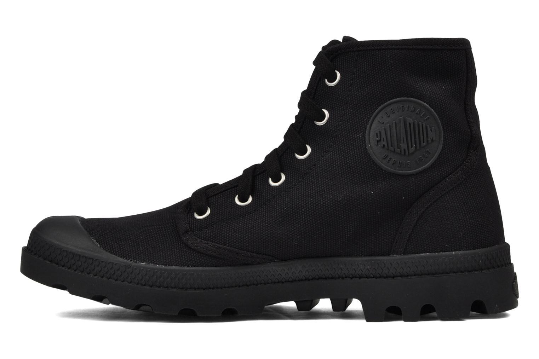 Boots en enkellaarsjes Palladium Us pampa hi m Zwart voorkant