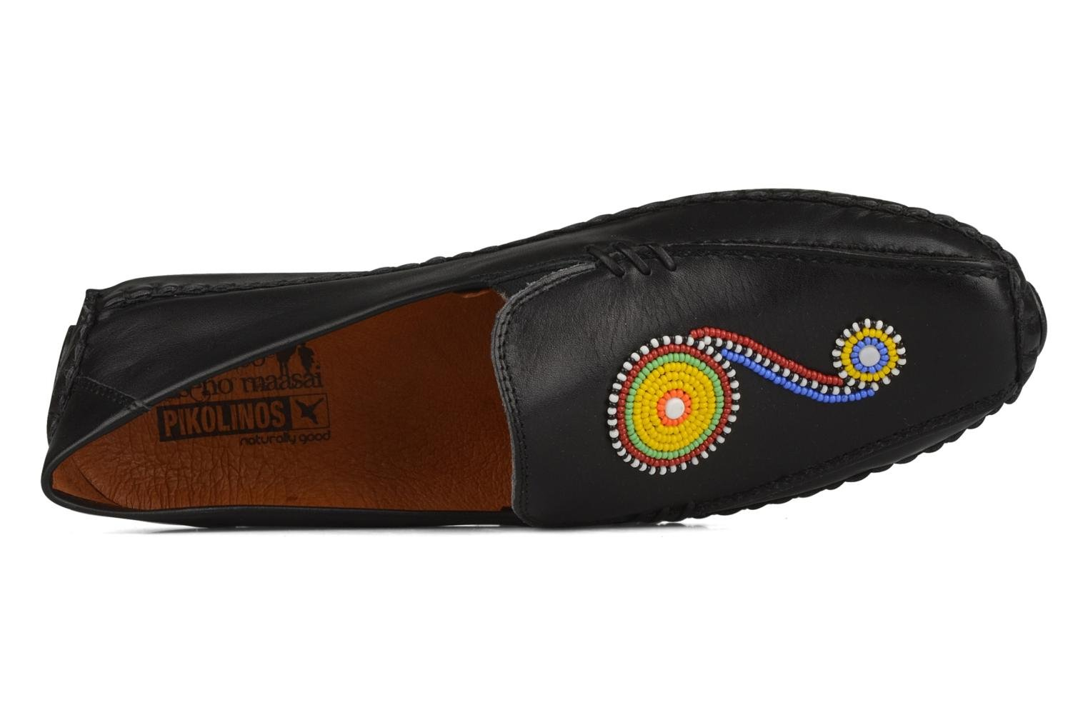 Loafers Pikolinos Jerez 8242 Black view from the left