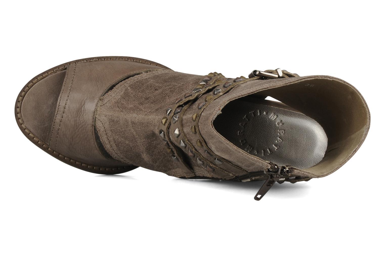 Sandales et nu-pieds Muratti Bergen Marron vue gauche