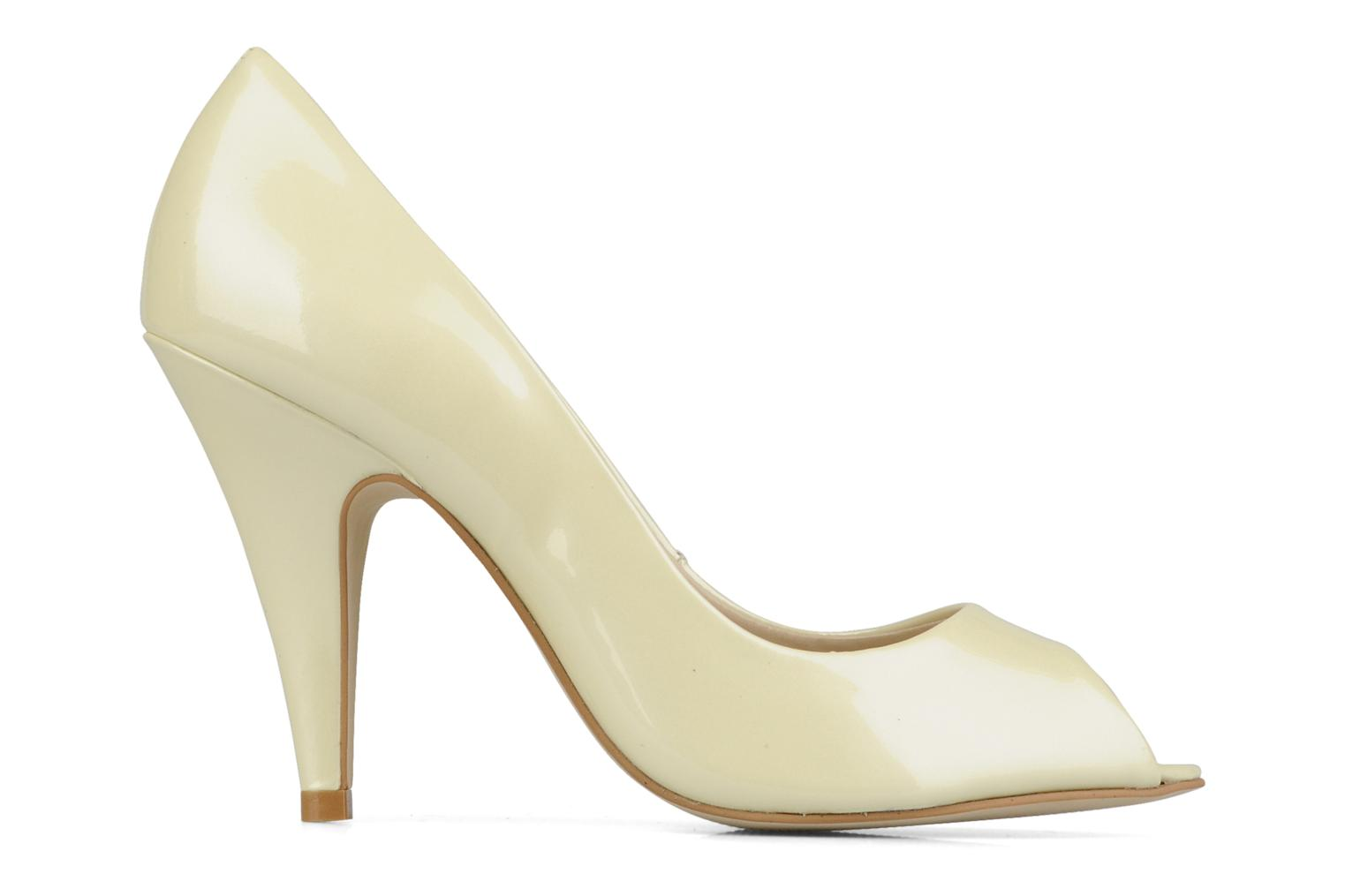 Louanne Patent metalic ivory