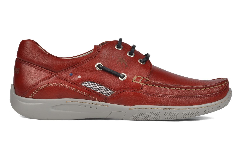Zapatos con cordones Fluchos Desafio 7175 Rojo vistra trasera