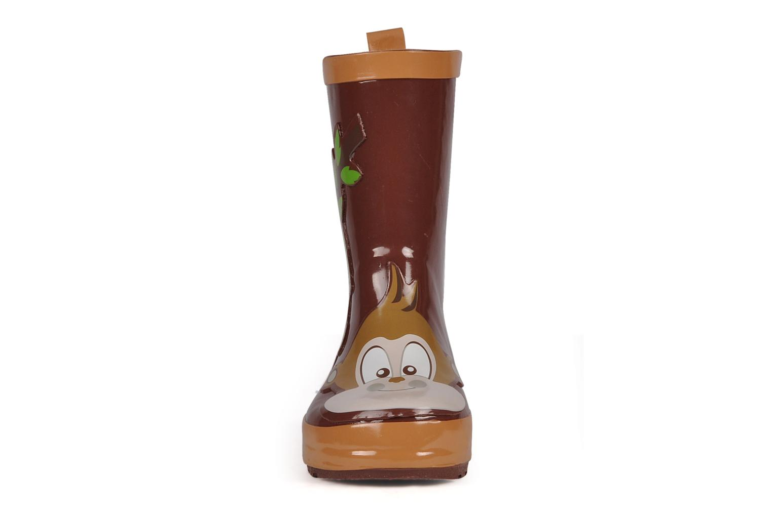 Bottes Be Only Kid monkey Marron vue portées chaussures