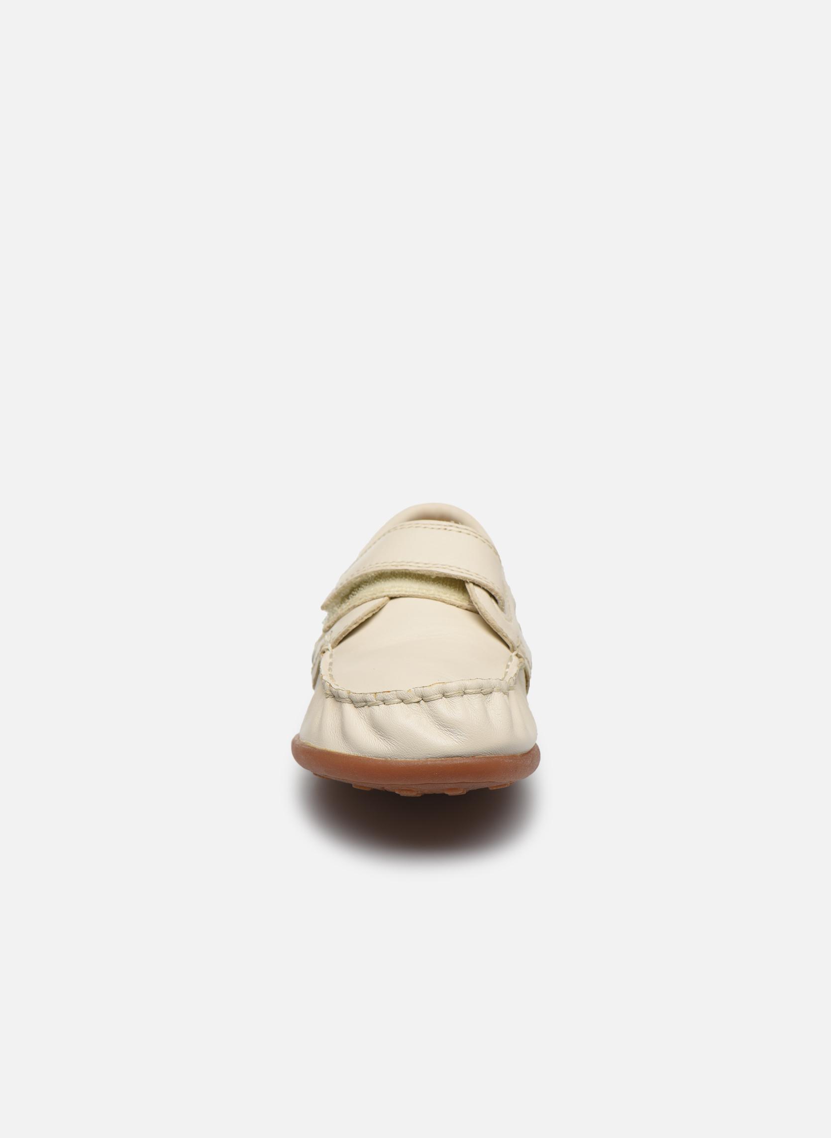 Chaussures à scratch Camper Peu 80080 Beige vue portées chaussures