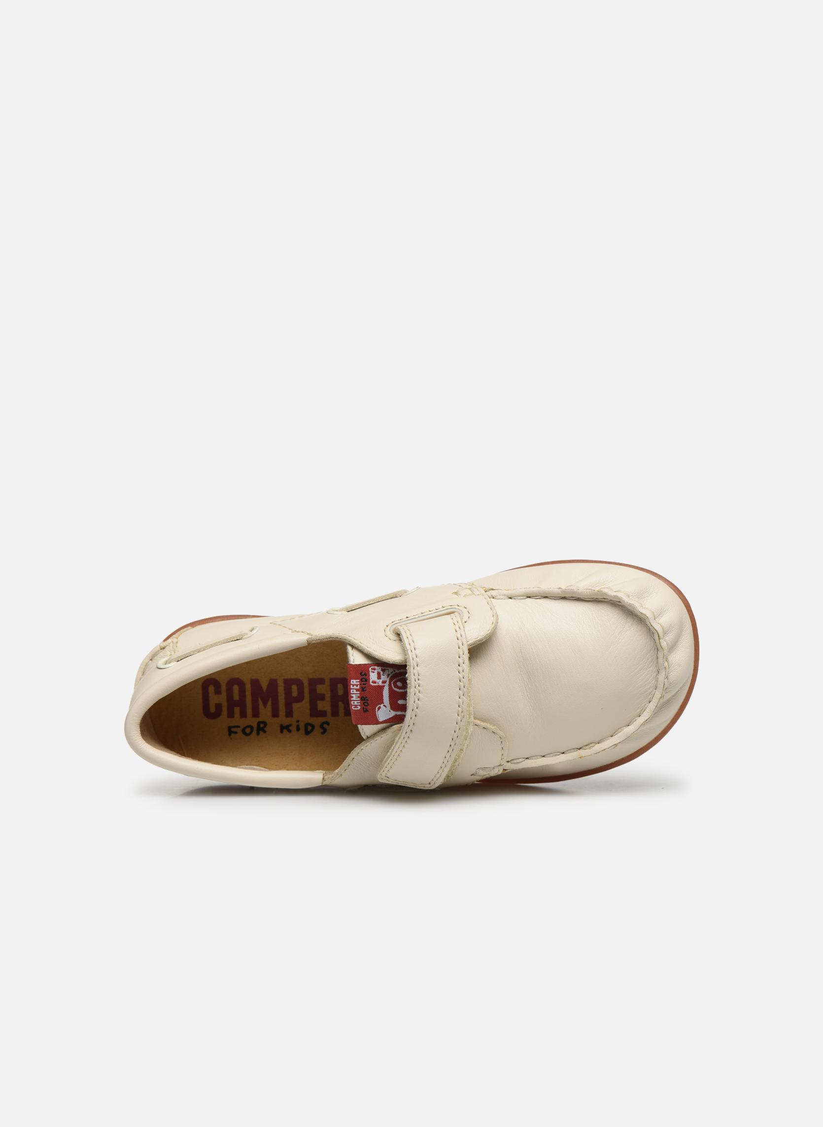 Chaussures à scratch Camper Peu 80080 Beige vue gauche