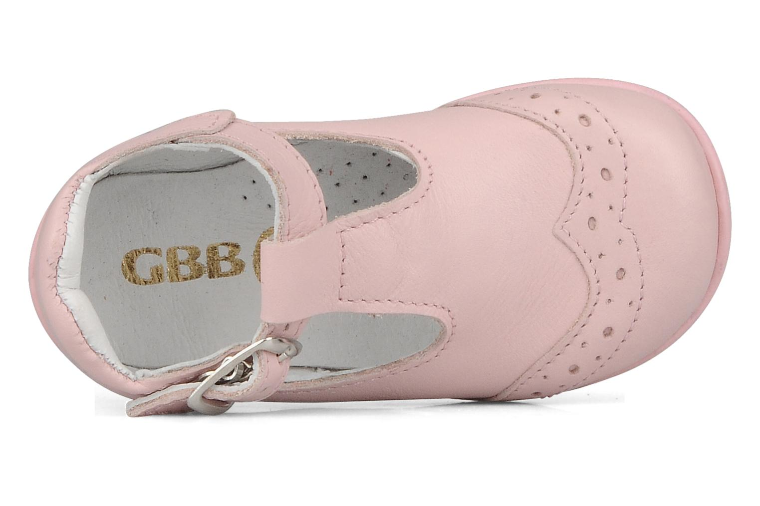 Ankle boots GBB Lea Pink view from the left