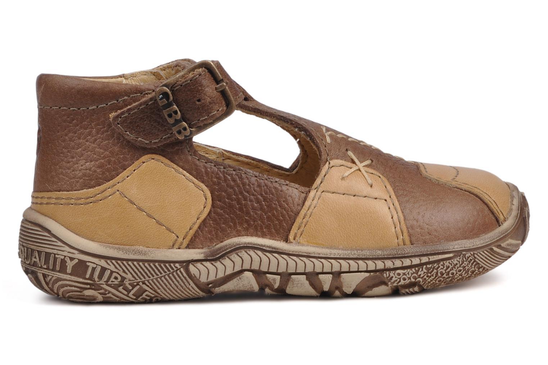 Bottines et boots GBB Loic Marron vue derrière