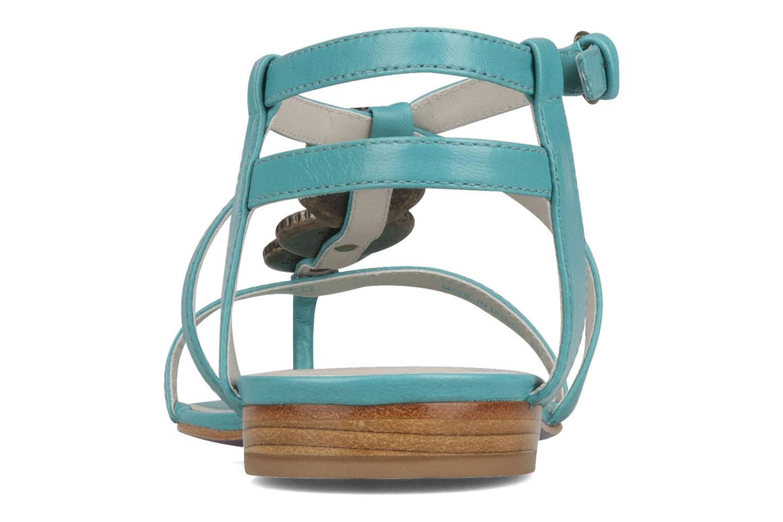 Sandales et nu-pieds Miezko Katilia Bleu vue droite
