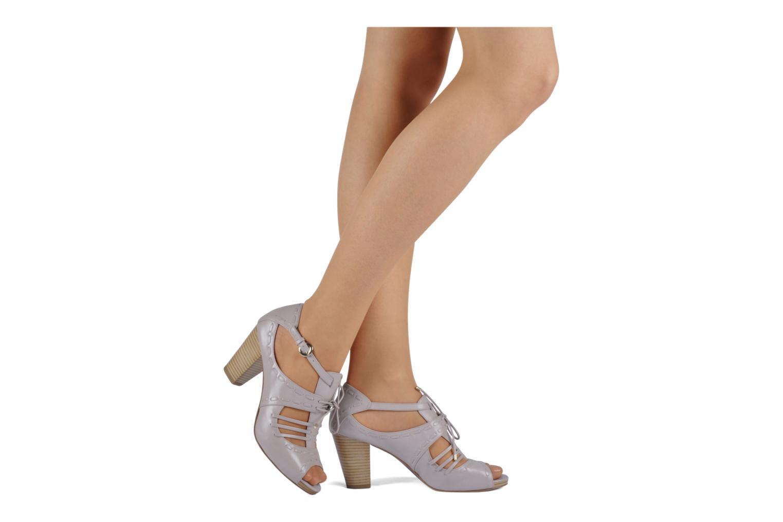 Sandales et nu-pieds Miezko Benka Rose vue bas / vue portée sac