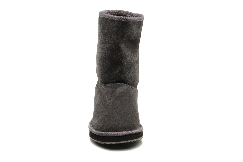 Bottines et boots Buffalo Delfina Gris vue portées chaussures