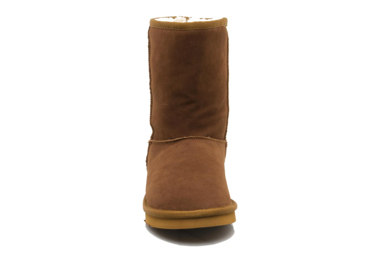 Bottines et boots Buffalo Delfina Marron vue portées chaussures