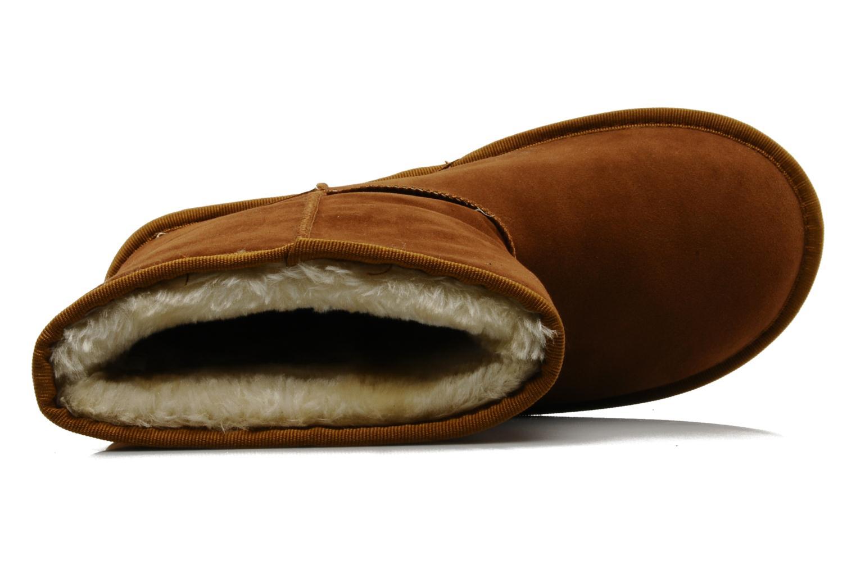 Stiefeletten & Boots Buffalo Delfina braun ansicht von links