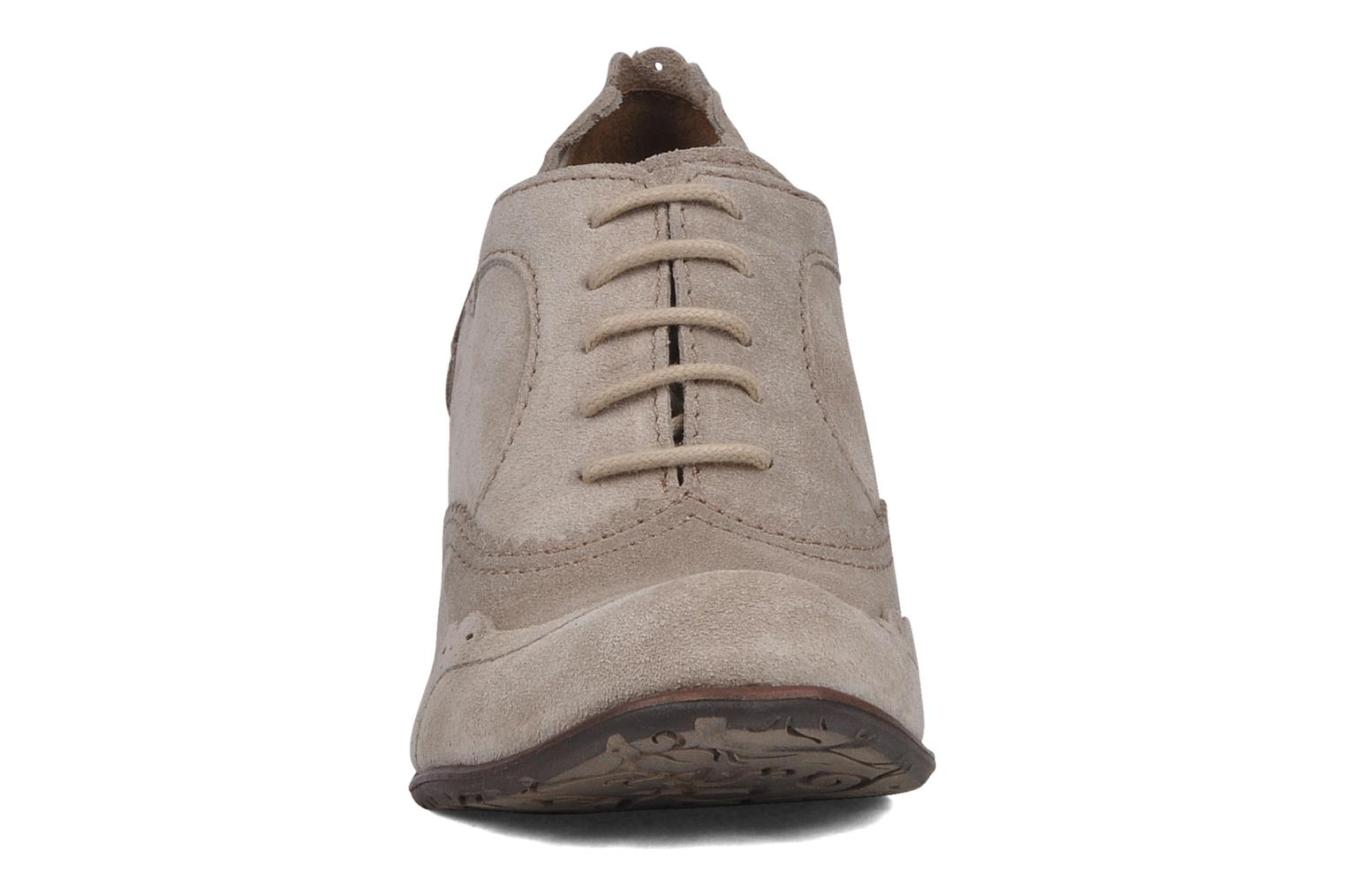 Lace-up shoes Dkode Victoria Grey model view
