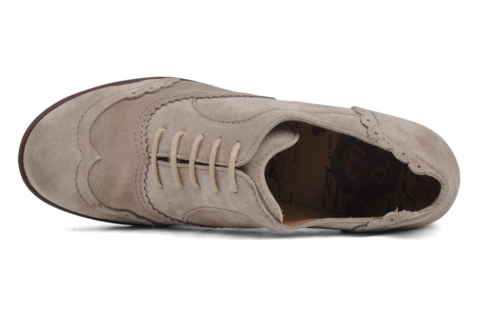 Lace-up shoes Dkode Victoria Grey view from the left