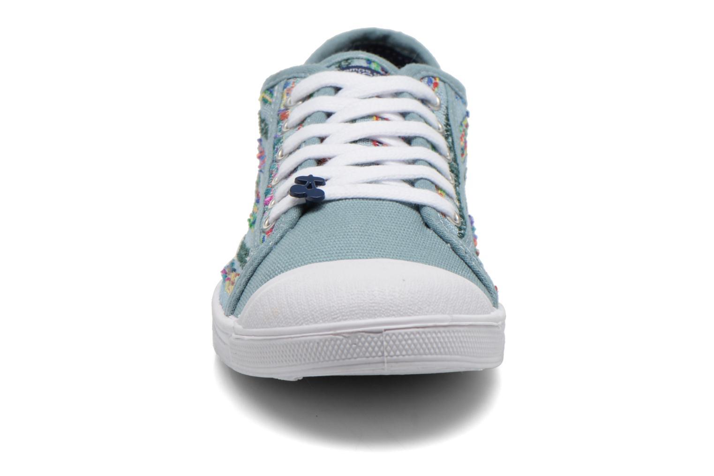 Sneaker Le temps des cerises Basic 02 mehrfarbig schuhe getragen