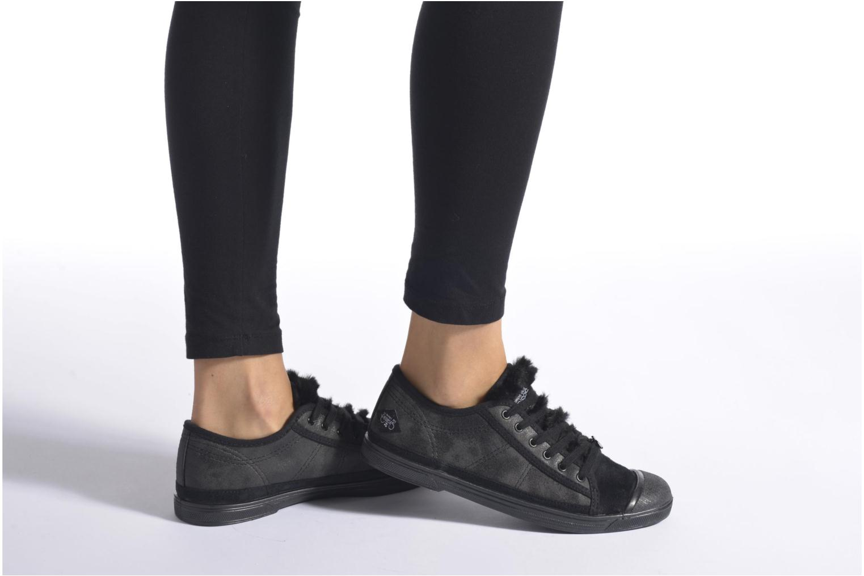 Sneakers Le temps des cerises Basic 02 Wit onder