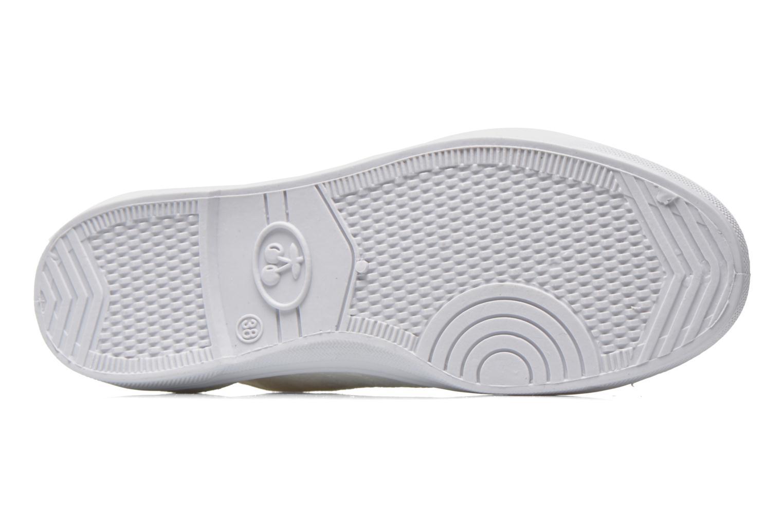 Sneakers Le temps des cerises Basic 02 Wit boven