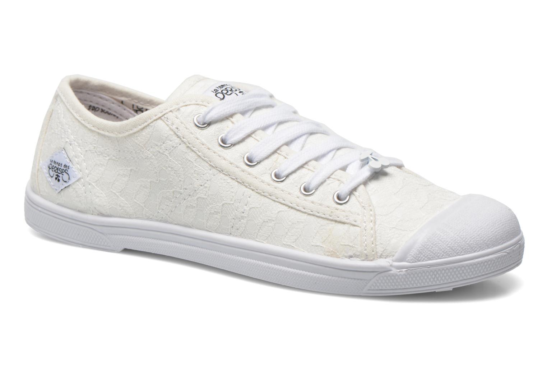 Sneakers Le temps des cerises Basic 02 Wit detail