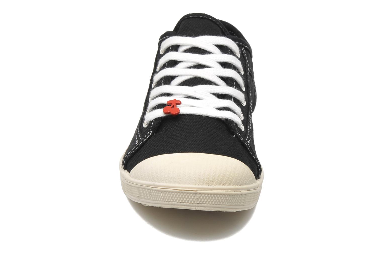 Sneakers Le temps des cerises Basic 02 Zwart model